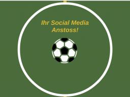 Webinar: Ihr social media Anstoss!