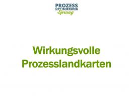 Webinar: Wirkungsvolle Prozesslandkarten