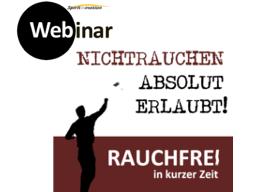 Webinar: nicht-RAUCHEN absolut erlaubt  !