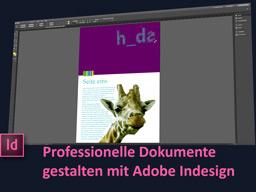 Webinar: Adobe Indesign: Lerne Deine Dokumente professionell zu gestalten