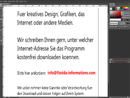 Ein kostenfreies Grafik Programm, Website Design