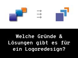 Webinar: Welche Gründe & Lösungen gibt es für ein Logoredesign?
