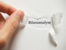 Webinar: Die Bilanz lesen und verstehen - das 1x1 der Bilanzanalyse