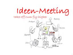 Webinar: Ideen-Meeting für fly-higher's