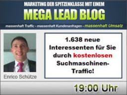 Webinar: 1.638 neue Interessenten für Sie durch kostenlosen Suchmaschinen-Traffic