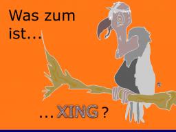 Webinar: Was zum Geier ist XING?