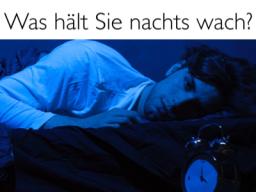 Webinar: Was hält Sie nachts wach ...?