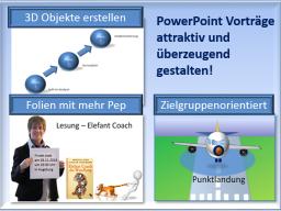 Webinar: Webinar-Reihe PowerPoint - Vorträge/Webinare attraktiv und überzeugend gestalten