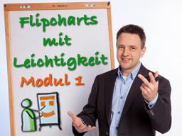 Webinar: Flipcharts mit Leichtigkeit - Modul 1