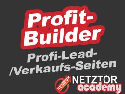 Webinar: ➤ PROFITBUILDER | シ Professionelle Lead-/Verkaufsseiten erstellen | Lead, Kontakt, Generierung, Verkaufsseite, Angebotsseite