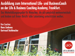 Webinar: International Life & BusinessCoach - InfoWebinar zur Ausbildung