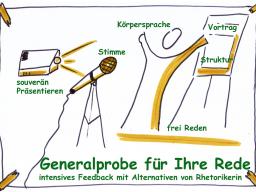 Webinar: Generalprobe für Ihre Rede