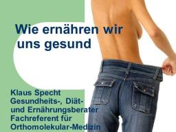 Webinar: Wie ernähren wir uns gesund!