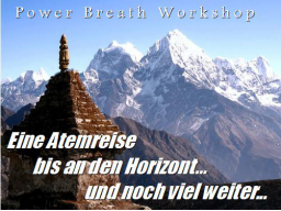 Webinar: PowerBreath - Freiheit durch die Kraft des Atems