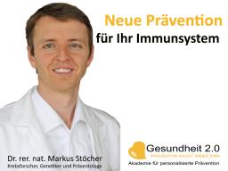 Webinar: Neue Prävention für Ihr Immunsystem