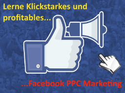 Webinar: Facebook PPC Marketing. Lerne profitable Facebook Ads zu schalten...