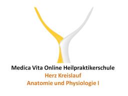 Webinar: Herz Kreislauf - Anatomie und Physiologie I