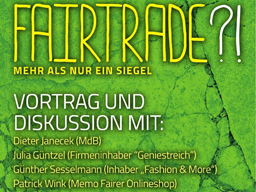 Webinar: Fairtrade?! Mehr als nur ein Siegel.