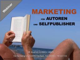 Webinar: Marketing für Autoren und Selfpublisher