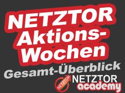 Webinar: NETZTOR Aktionswochen - Der Gesamtüberblick