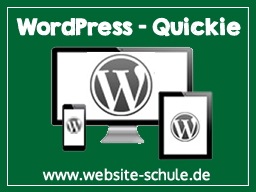 Webinar: WordPress - Quickie