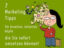 Webinar: 7 Marketingtipps für kreative Köpfe, die Sie sofort umsetzen können.