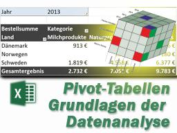 MS Excel: Pivot-Tabellen - Kompaktkurs