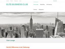 """Webinar: ELITE-BUSINESS-CLUB  Topthema """"Erfolgreichstes Geschäftsfeld"""""""
