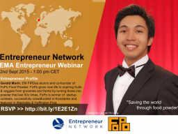Webinar: From Researcher to Entrepreneur - Gerald, co-founder of FoPo