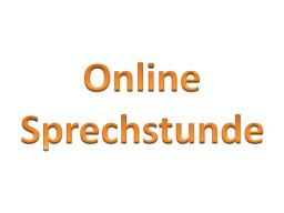 Webinar: 5. Online Sprechstunde