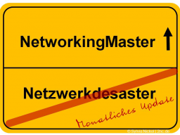 Webinar: NetworkingMaster#5: Pay it forward