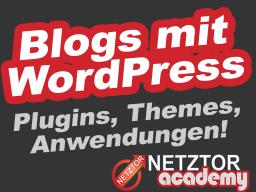 Webinar: ➤ WPSPEZIAL: WordPress Blog Themen | シ Regelmäßige Infos zu Anwendung + Praxis | WordPress Fachwissen