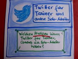 Webinar: Welchen Nutzen kann Twitter für Trainer und andere Solo-Arbeiter haben?