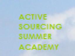 Webinar: Active Sourcing - Praxisbeispiel: Protokoll eines Selbstversuchs