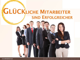 Webinar: Glückliche Mitarbeiter sind erfolgreicher