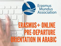 Webinar: Erasmus+ Pre-departure Orientation in Arabic بالعربية