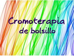 Webinar: Cromoterapia de bolsillo