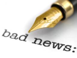 """Webinar: """"bad news"""""""