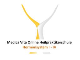 Webinar: Hormonsystem I - IV