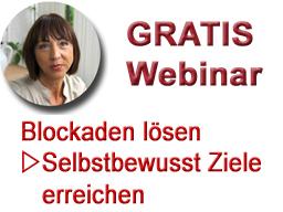 Webinar: Blockaden lösen - selbstbewusst Ziele erreichen