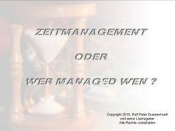 Webinar: Webinar-Serie: Zeitmanagement, Modul 1