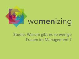 Webinar: Ergebnisse der Studie: Warum gibt es so wenige Frauen im Management?