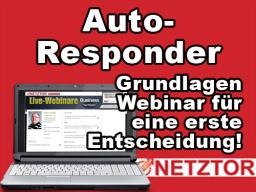 Webinar: AutoResponder: Was Sie unbedingt beachten sollten!