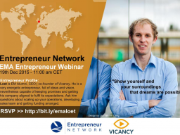 Webinar: My Entrepreneurial Journey, What I learned by Loet, co-founder of Vicancy