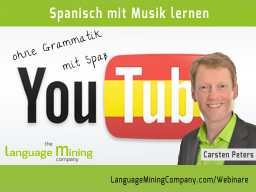 Webinar: Spanisch mit Musik lernen