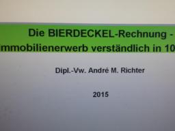 Webinar: Die BIERDECKEL-Rechnung - Immobilienerwerb verständlich in nur 10 Min.!