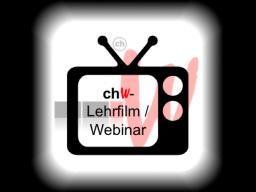 Webinar: chW SE-vST - Curriculum 2 nach Kapitel 120