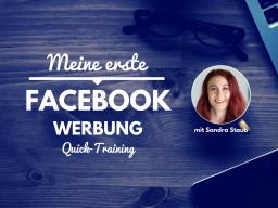 Meine erste Facebook Werbung