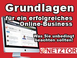 Webinar: Grundlagen für ein erfolgreiches Online-Business