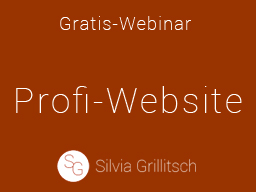 Webinar: Profi-Website